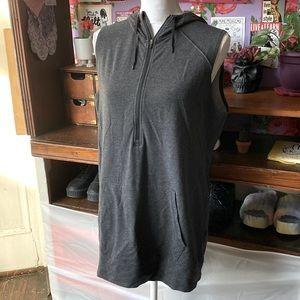 Nike Dri-Fit Sleeveless Hooded Tunic
